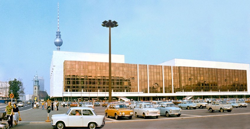 Palast der Republik in de DDR-tijd, 1977 - cc