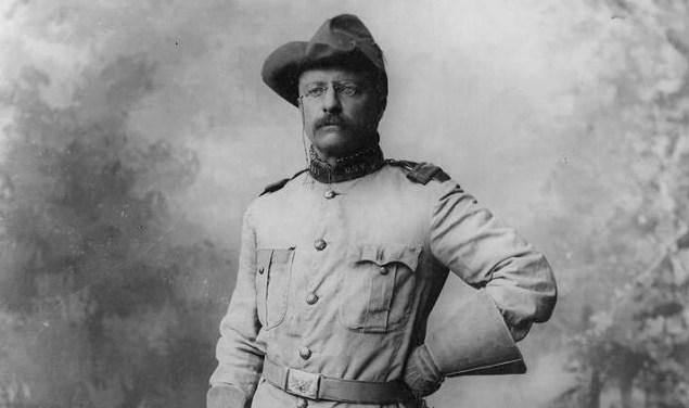Theodore Roosevelt in 1898
