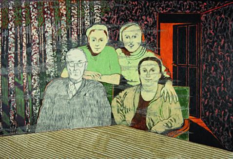 'Amsterdam – april 1942, Jekerstraat 14-3' - Eén van de negen werken uit De Ondergang van Abraham Reiss door Jeroen Krabbé (2010)