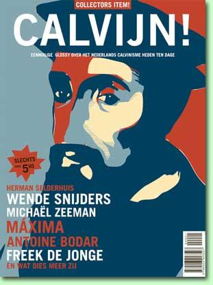 "Cover glossy ""Calvijn"" (2009)"