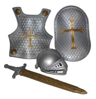 De moderne versie van het 'ridderpak', die nog verdacht veel lijkt op die van 60 jaar geleden.