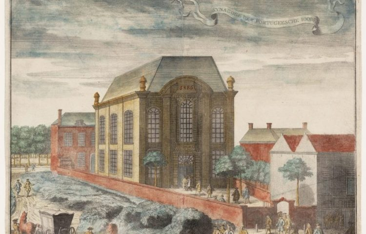 Philips Jan Caspar, Portugese synagoge Beth Jacob in Den Haag, 1729. Collectie Joods Historisch Museum