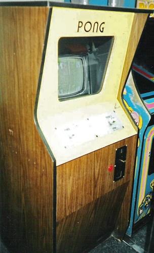 Pong werd uitgebracht als arcadespel in 1972