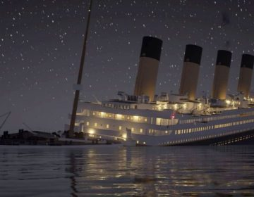 Zo zonk de Titanic