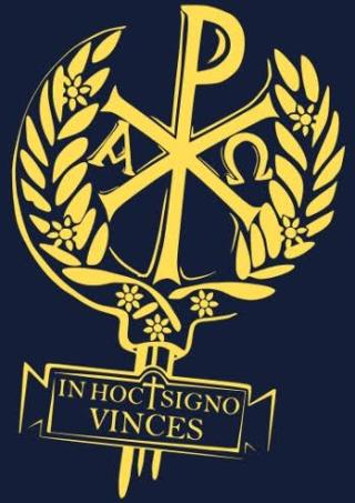 In hoc signo vinces (XP-teken). Bron: www.quora.com