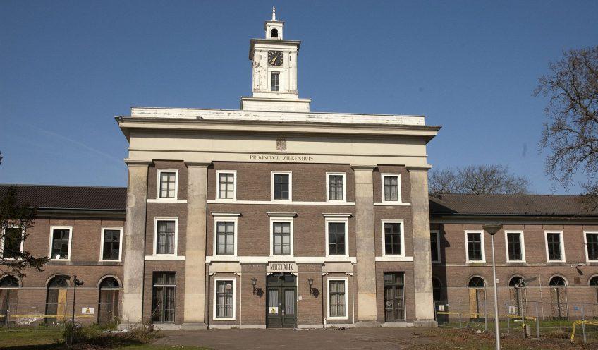 """Provinciaal ziekenhuis """"Meer en Berg"""" in Bloemendaal"""