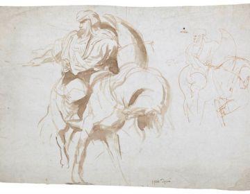 De penseeltekening van Peter Paul Rubens (Veilinghuis Bernaerts)