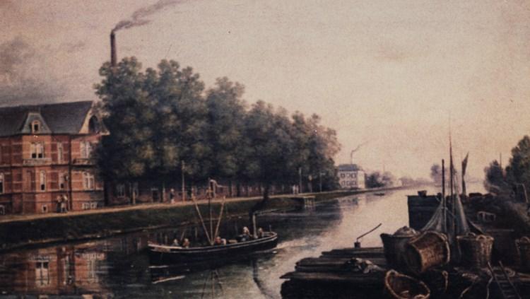 Het schilderij van Henri Knip.
