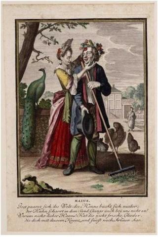 Casper Luyken, Maius, 1700. Collectie Amsterdam Museum, A 44732