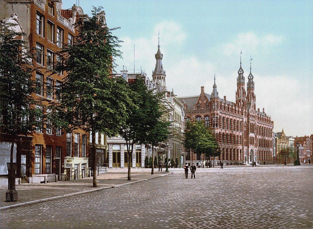 Amsterdam Postkantoor (Library of Congress)