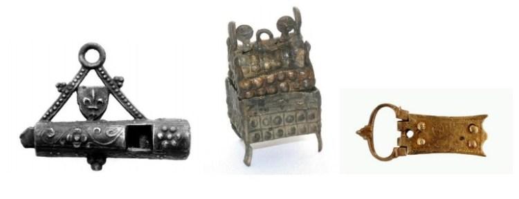 Een aantal van de vondsten