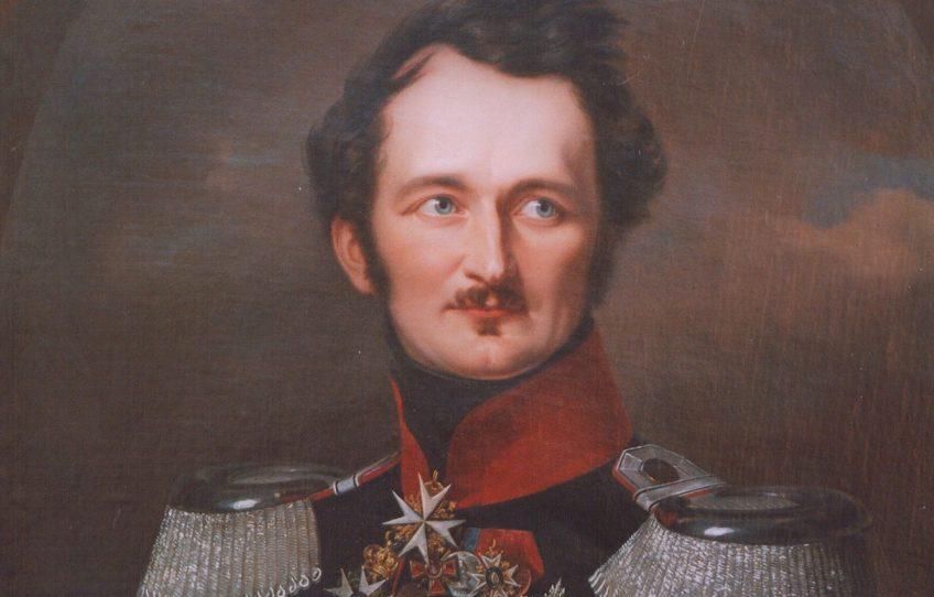 Hermann von Pückler-Muskau in Pruisisch uniform (1846)