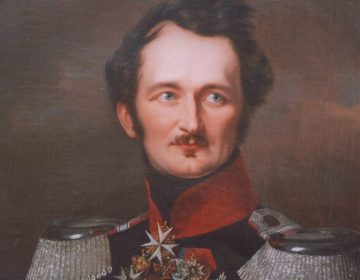 Hermann von Pückler-Muskau in Pruisisch uniform (1846)