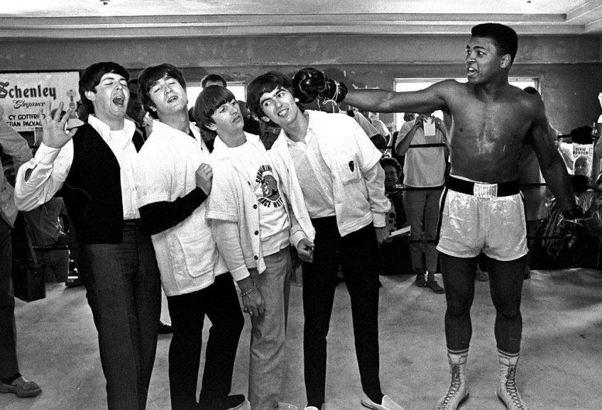 The Beatles en Muhammed Ali