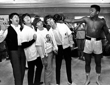 The Beatles en Muhammed Ali