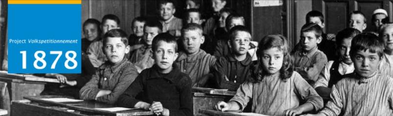 VU lanceert crowd-sourcingproject Volkspetitionnement 1878