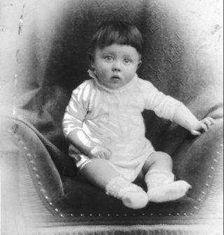Adolf Hitler als klein kind