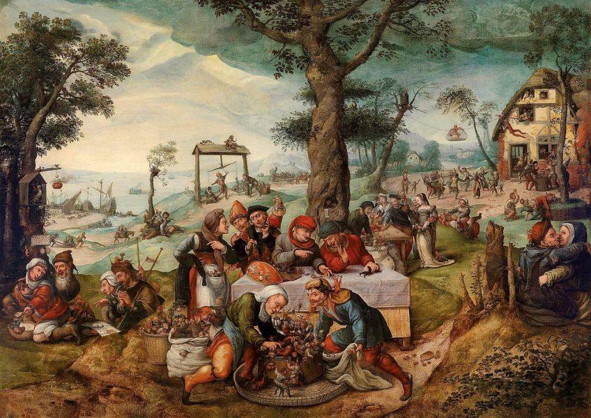 De Narrenhandel - Frans Verbeeck