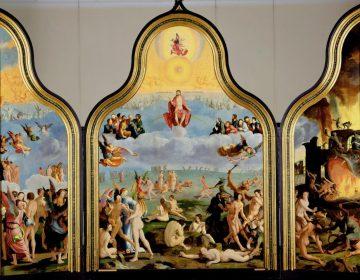 Lucas van Leyden, Laatste Oordeel (1526-27). Collectie Museum De Lakenhal, Leiden