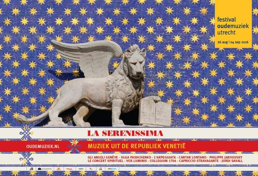 Poster voor het Festival Oude Muziek 2016