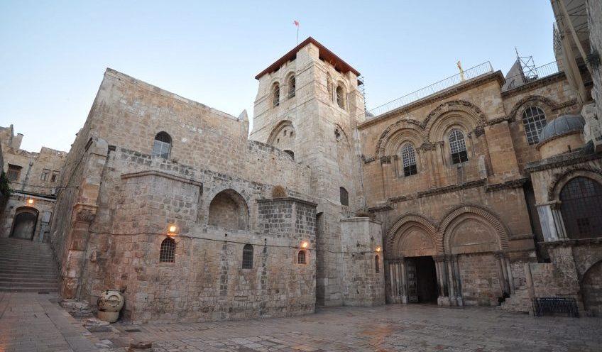 Grafbasiliek in Jeruzalem - cc