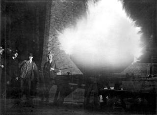 In 1928 werd voor het eerst de Olympische vlam ontstoken. De vlam werd aangestoken door een medewerker van het gasbedrijf
