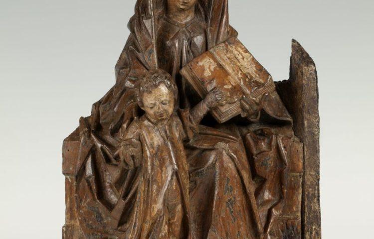 Zittende Maria met staand Christuskind (Museum Catharijneconvent)