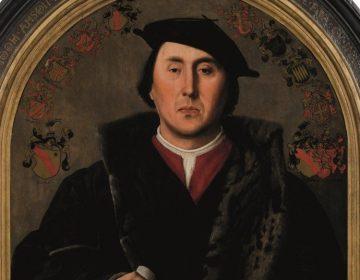 Jan Cornelisz. Vermeyen, Portret van Jodocus Aemszoon van der Burch, 1541 (detail)