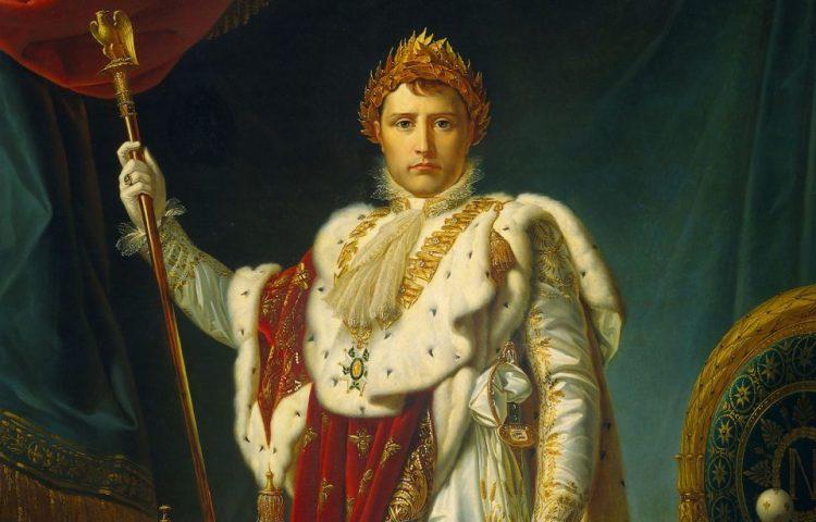 Beroemd portret van Napoleon door François Gérard (1770-1837). Geschilderd in 1805. Bron: Wikimedia.