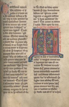 Bladzijde van een handschrift van de Confessiones (wiki)