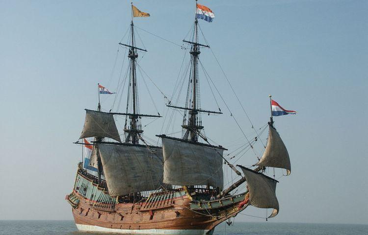 De replica van de Batavia