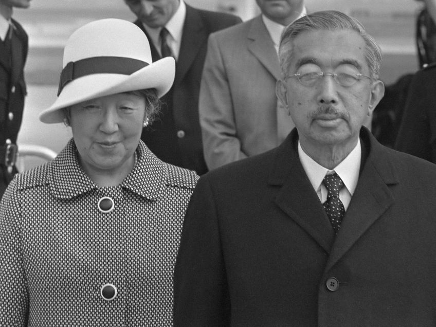 Keizer Hirohito en keizerin Nagako in Nederland, 1971 (cc - Nationaal Archief - Anefo)