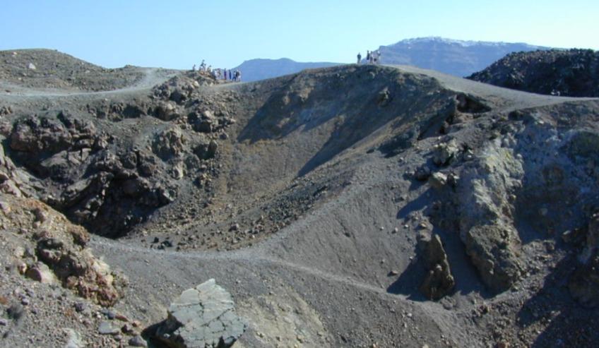 Thera - Vulkanische kraters (wiki)