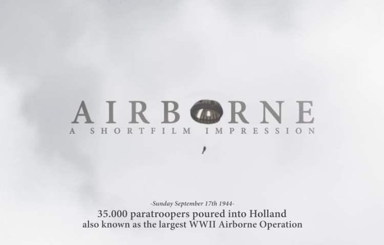 Airborne, een korte film over de Slag om Arnhem