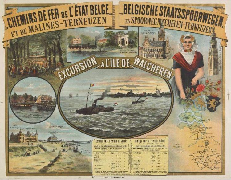 Zeeuws Archief - Hoe de Belgen 'pleizierreizigers' naar Walcheren brachten