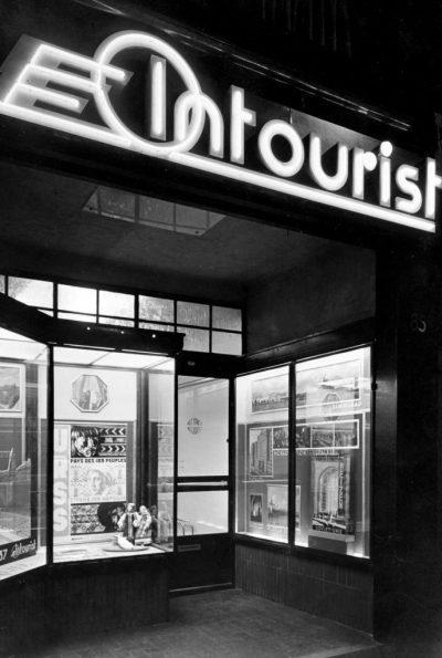 Intourist-kantoor Amsterdam, 1937