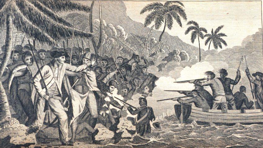De dood van James Cook