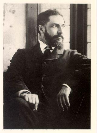 Flinders Petrie op jongere leeftijd