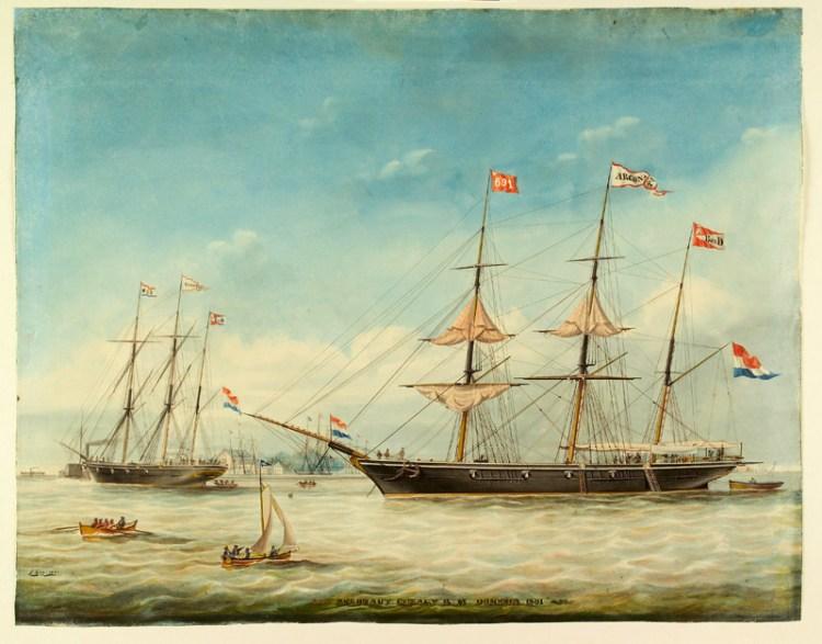 Het barkschip Argonaut (1861).