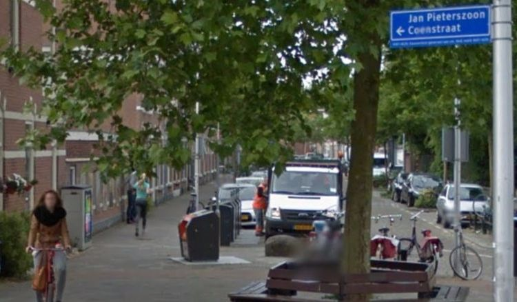 Jan Pieterszoon Coen-straat in Utrecht (Google Maps)