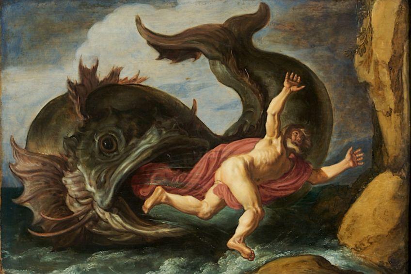 Jona en de walvis - Pieter Lastman