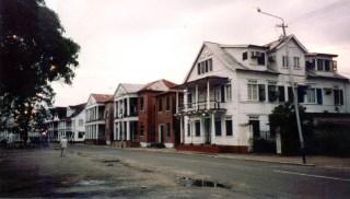 De historische binnenstad van Paramaribo is sinds 2002 Werelderfgoed