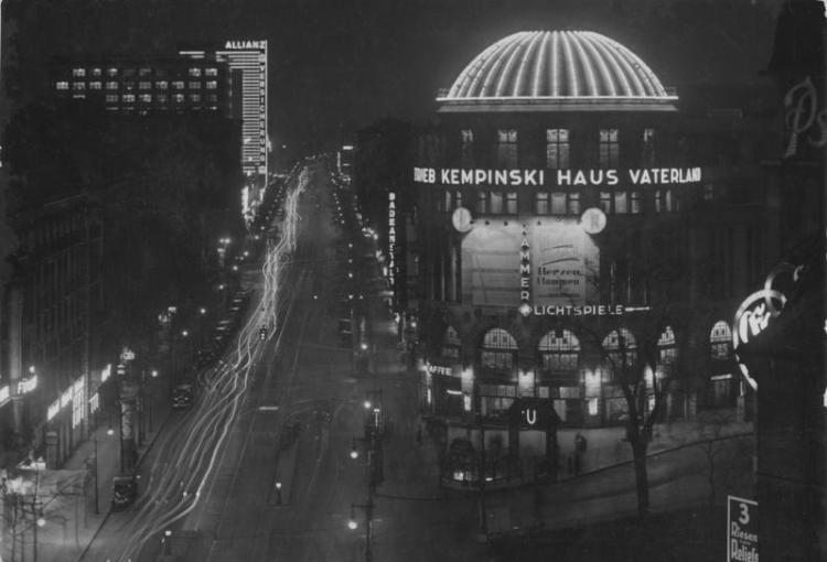 Restaurant Vaterland in zijn betere jaren - cc
