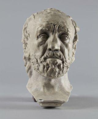 Man met gebroken neus - Auguste Rodin, 1864