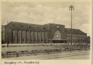 Centraal Station van Koningsbergen