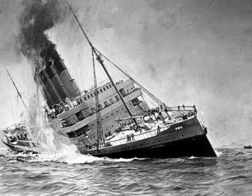 De zinkende Lusitania - cc