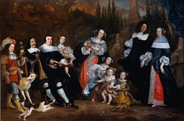 Familieportret uit 1662