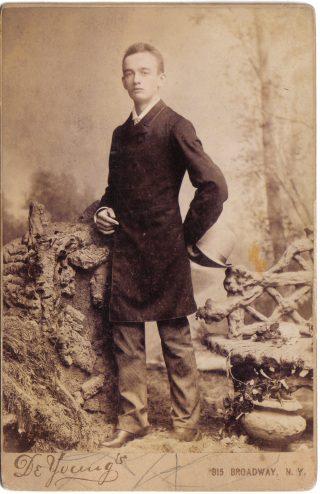 Frederick Trump in 1887