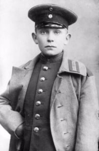 Hermann Göring in 1907 als cadet