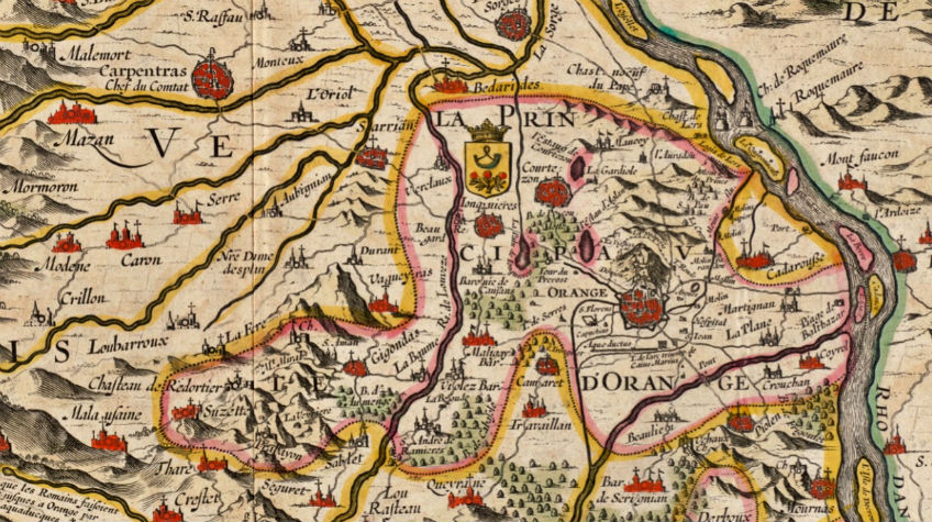 Orange in 1633